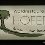 Waldrestaurant Höfer